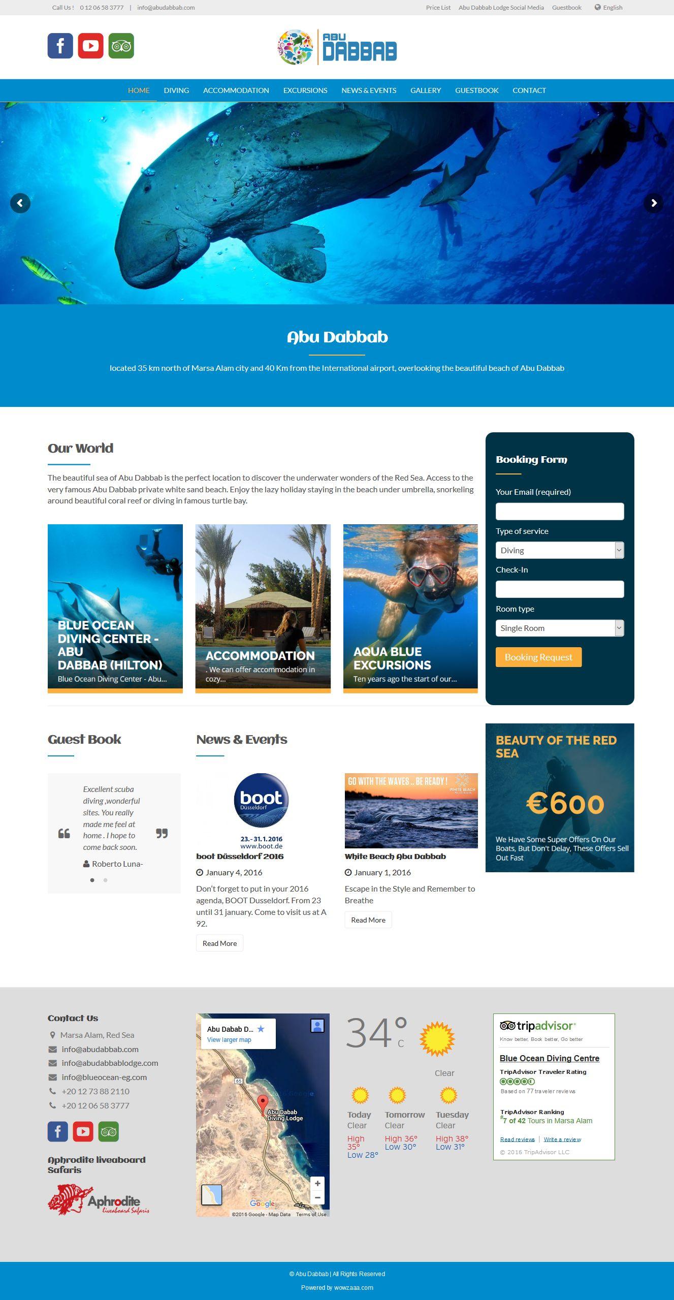 abu dabbab web design