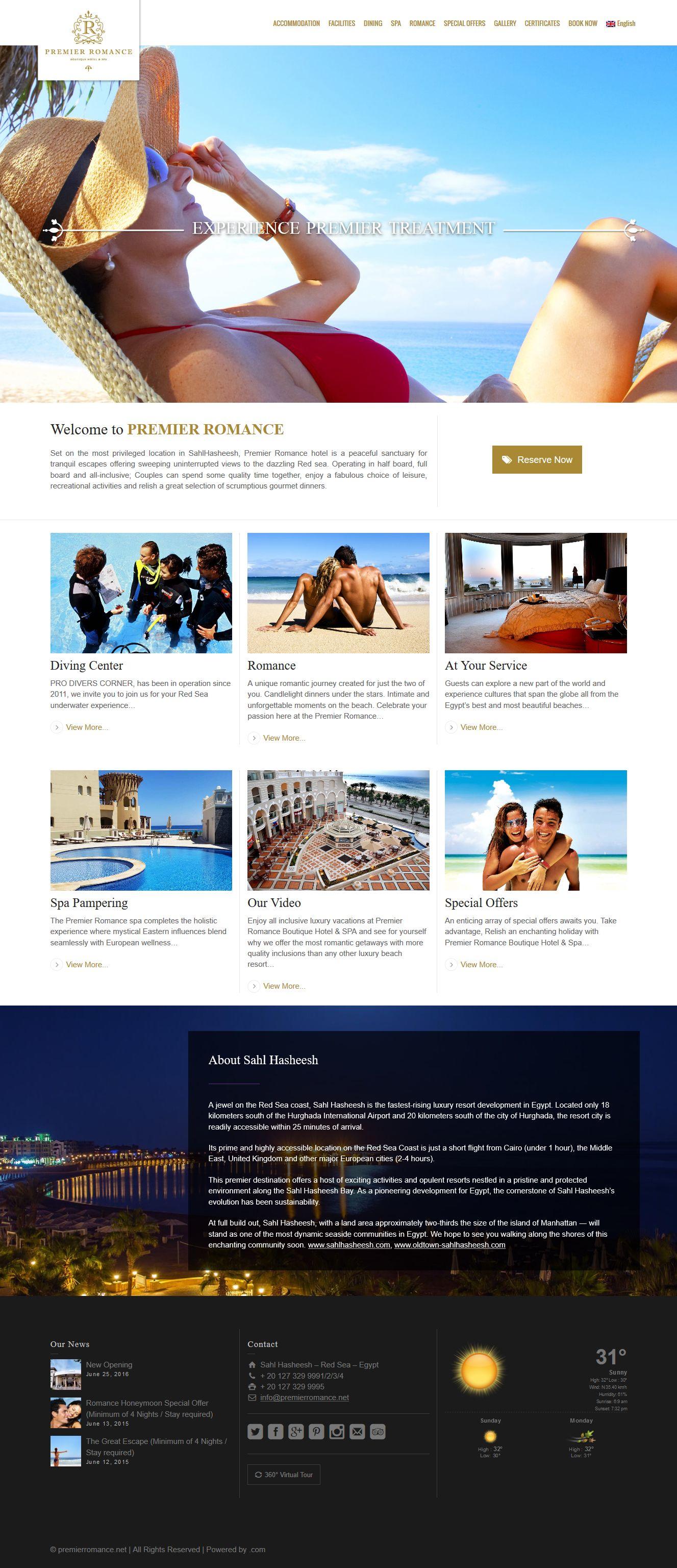 premierromance web design