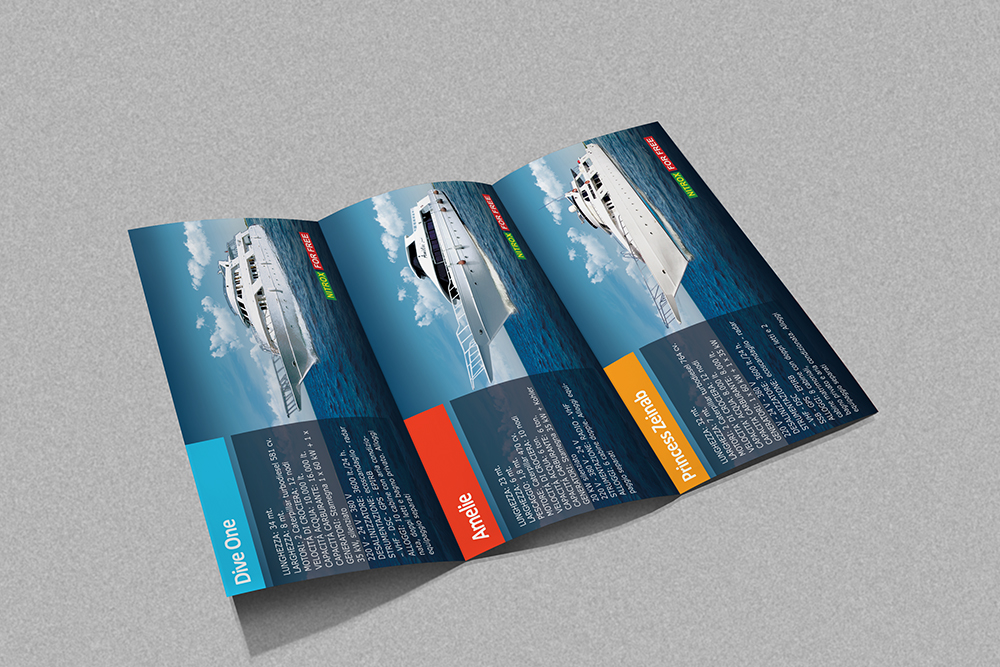brochure design and print