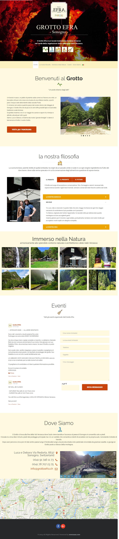 grottoefra web design