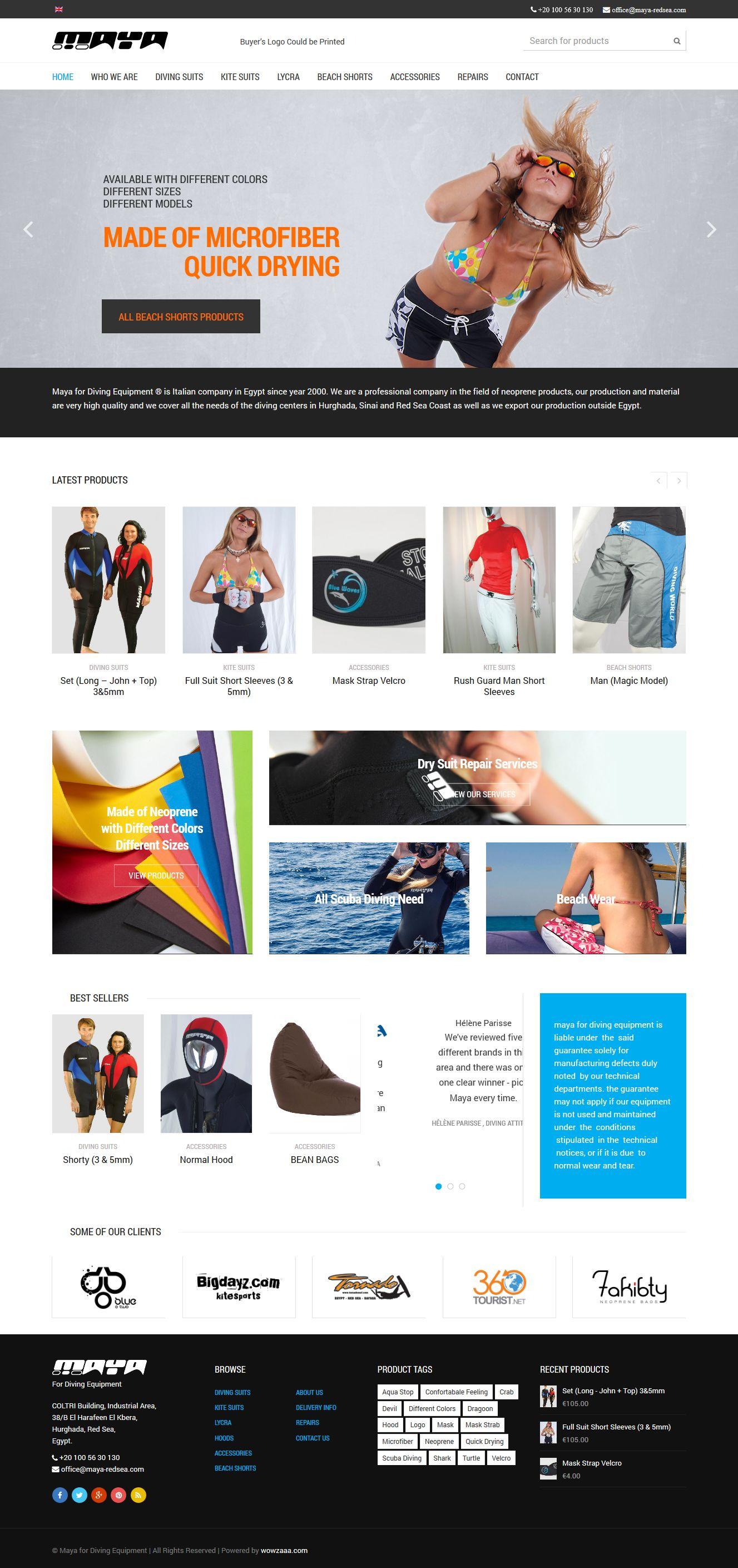 maya web design