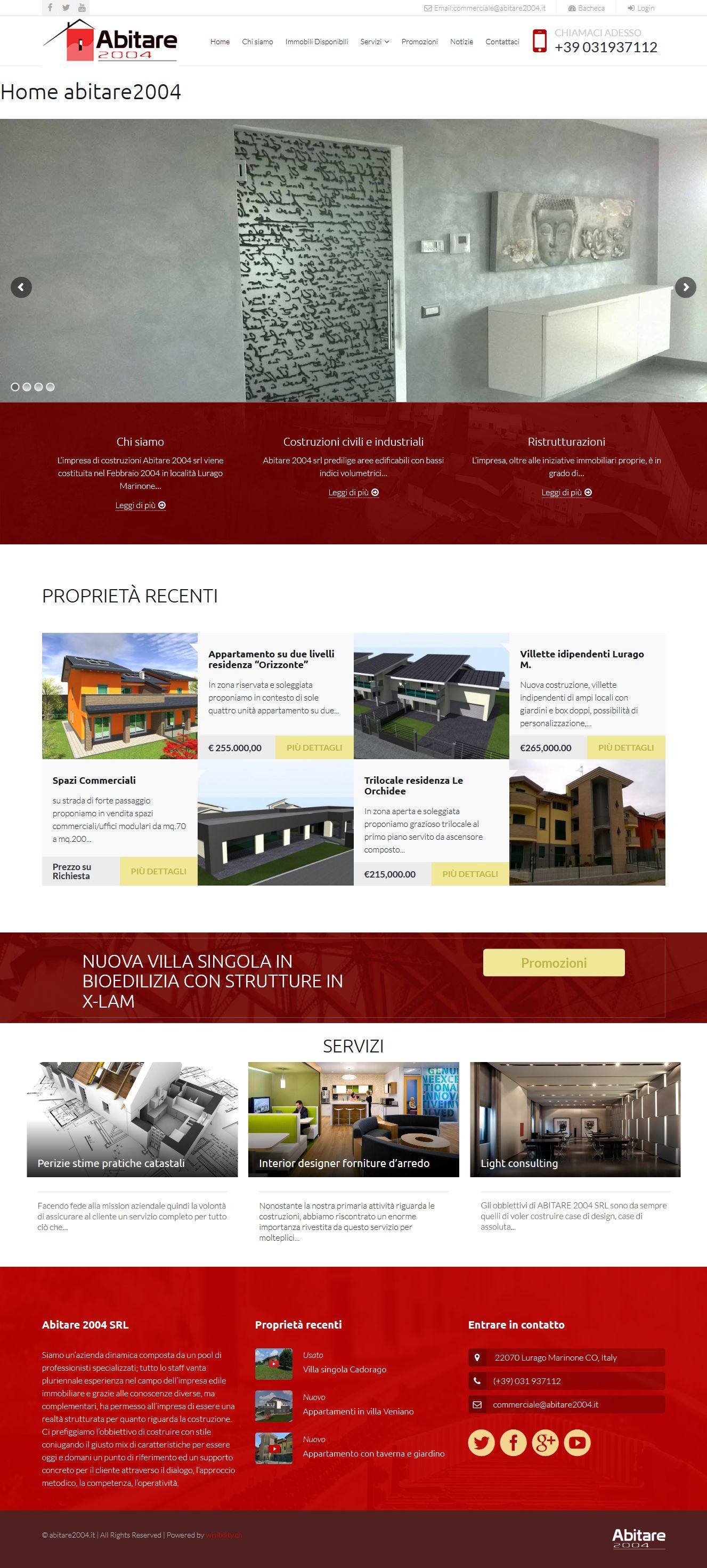 abitare2004 web design