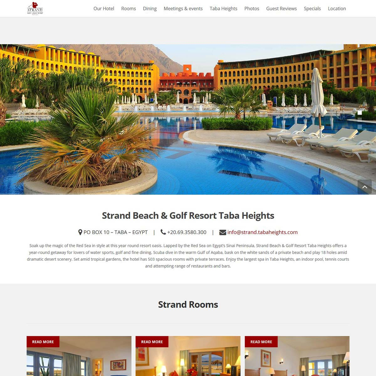 strand_tabaheights web design