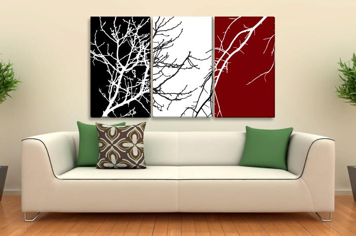 Canvas 3 pieces 300 cm x 150 cm